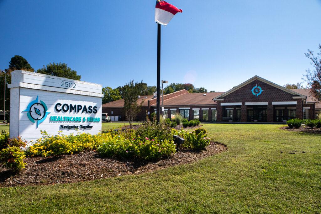 compass healthcare exterior